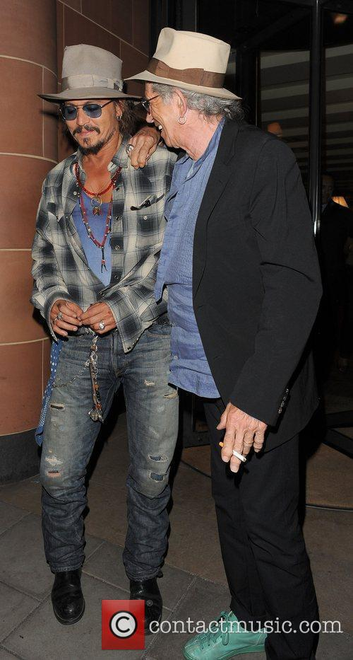 Johnny Depp and Keith Richards 16