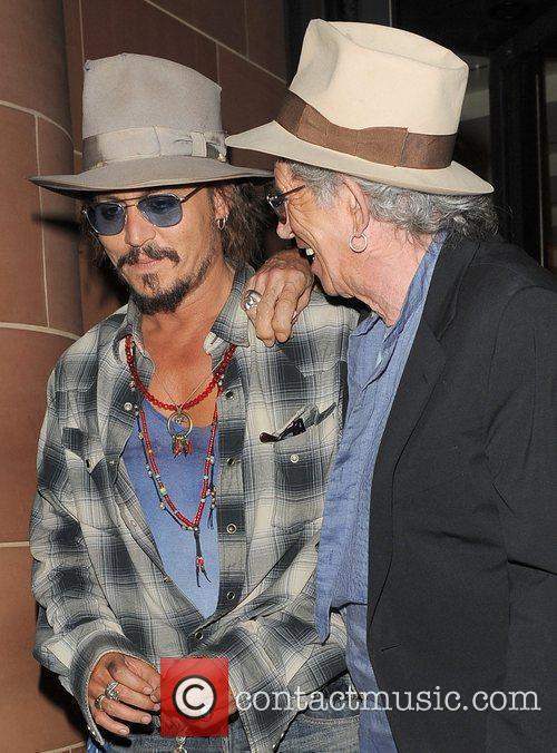 Johnny Depp and Keith Richards 1
