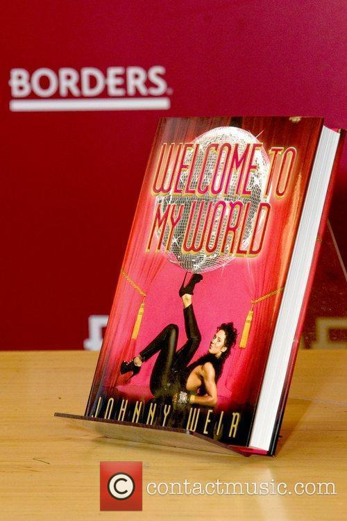 A copy of Johnny Weir's new book 'Welcome...
