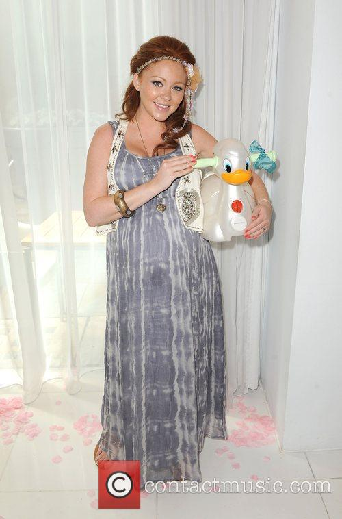Natasha Hamilton The launch of Johnson's Baby Celebrity...