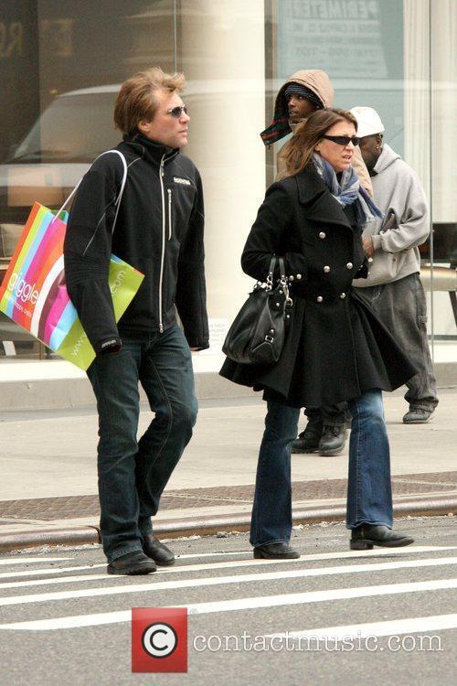 Jon Bon Jovi and wife Dorothea Hurley Jon...