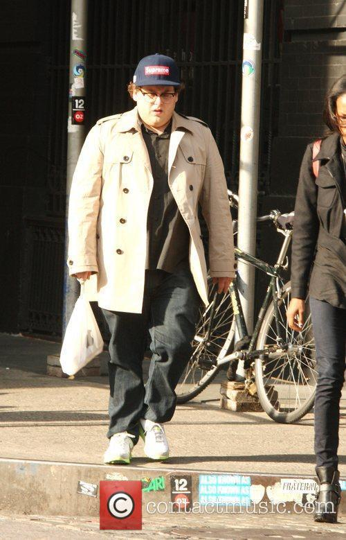 Jonah Hill is seen out and about in...