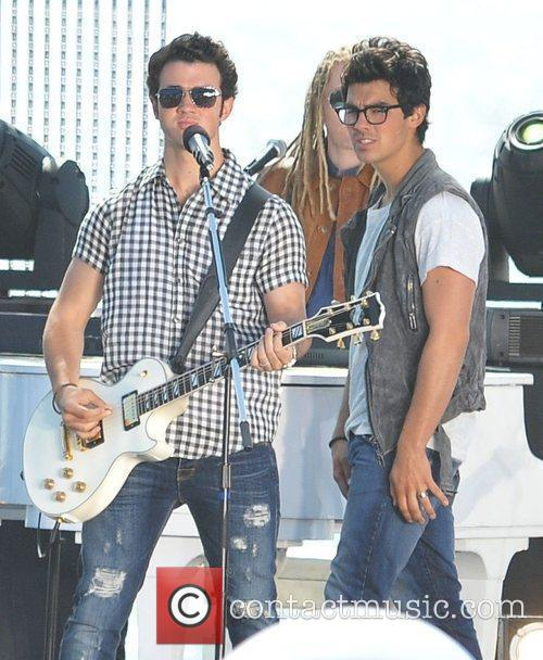 Kevin Jonas and Joe Jonas The Jonas Brothers...