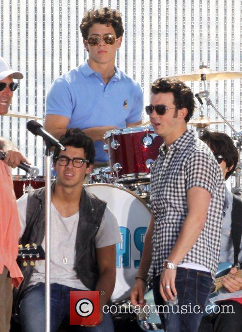 Joe Jonas, Nick Jonas and Kevin Jonas The...