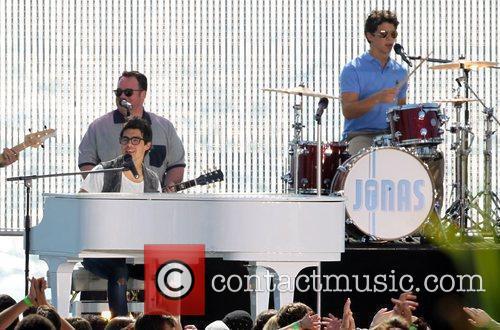 Joe Jonas and Nick Jonas The Jonas Brothers...