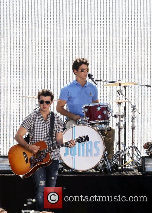 Kevin Jonas and Nick Jonas The Jonas Brothers...