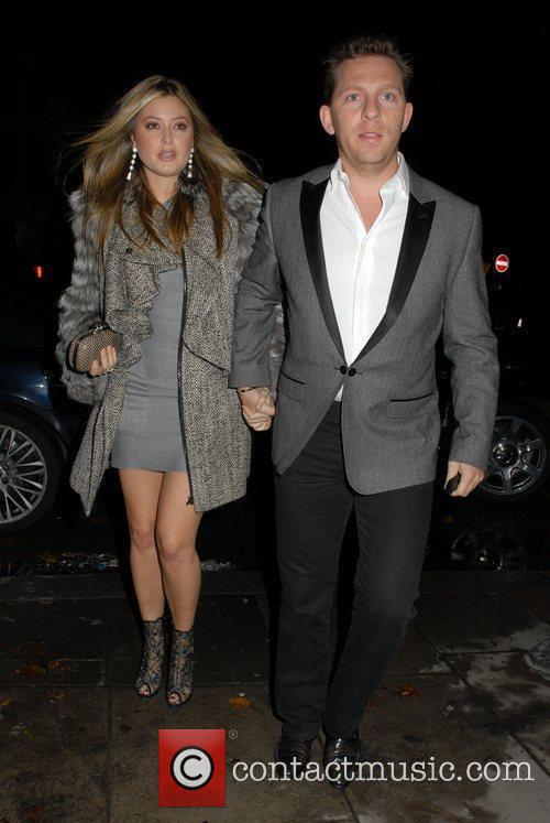 At celebrity agent, Jonathan Shalit's wedding party at...