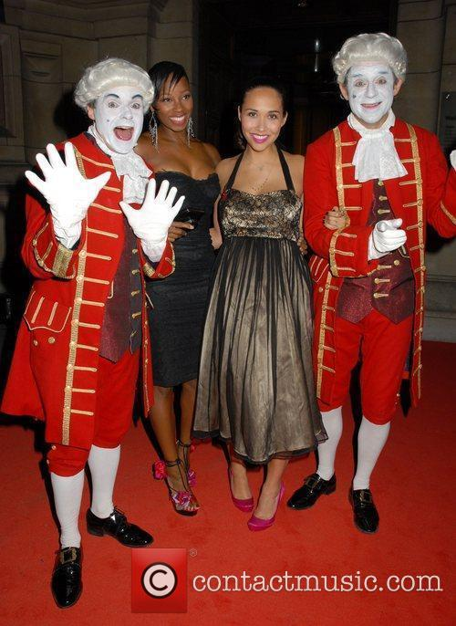 Myleene Klass and Jamelia 1