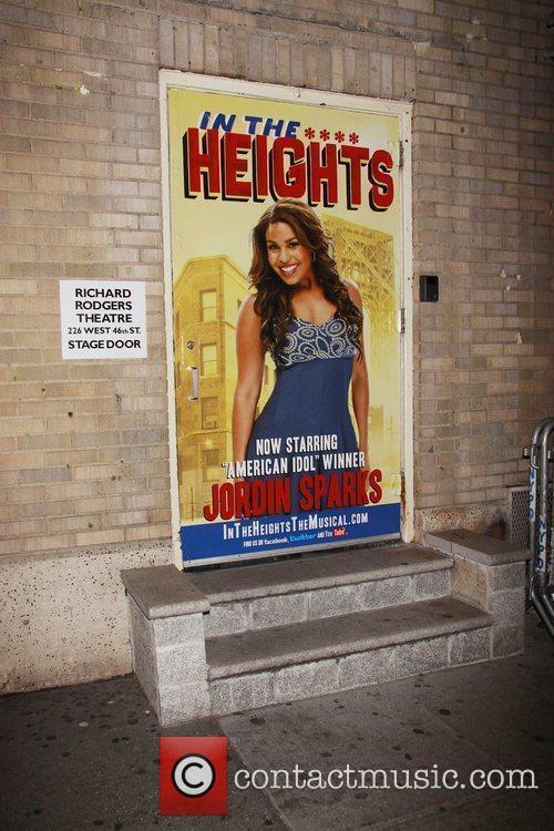 Poster Jordin Sparks makes her Broadway debut in...