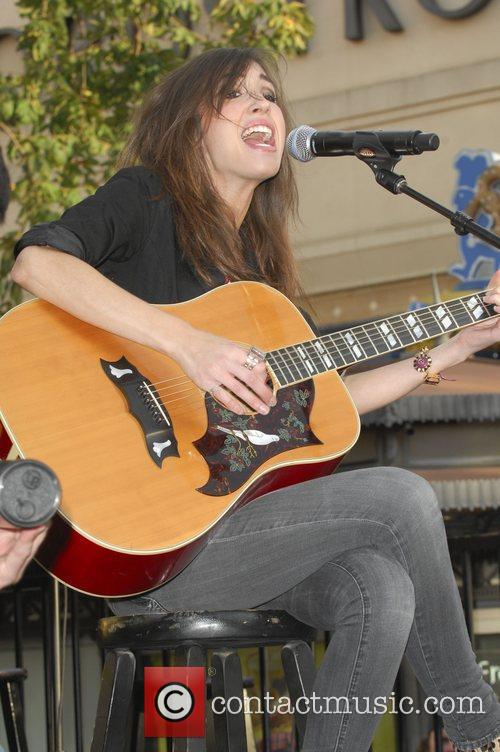 Kate Voegele performing live at The Grove in...