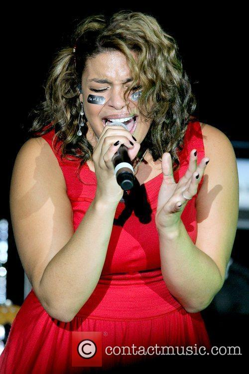 Jordin Sparks performing The 3rd Annual Jordin Sparks...