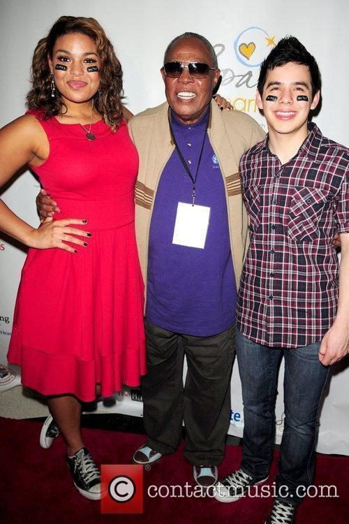 Jordin Sparks, Sam Moore and David Archuleta The...
