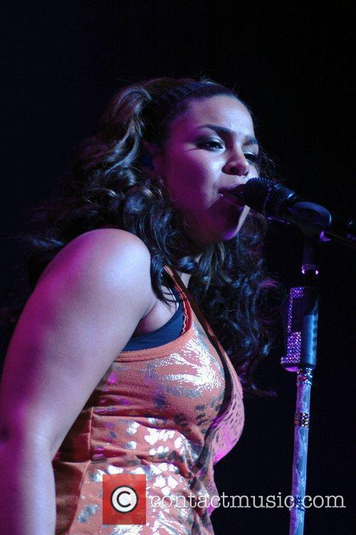 Jordin Sparks performs at Club Nokia as part...