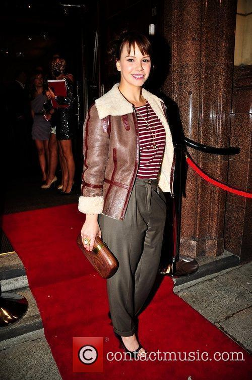 Hollyoaks star, Jessica Fox at the opening of...