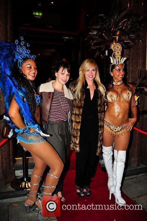 Hollyoaks, Jessica Fox and Jorgie Porter