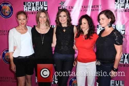 Maria Bello, Hilary Swank, Marcia Gay, Mariska Hargitay and Rosie Perez