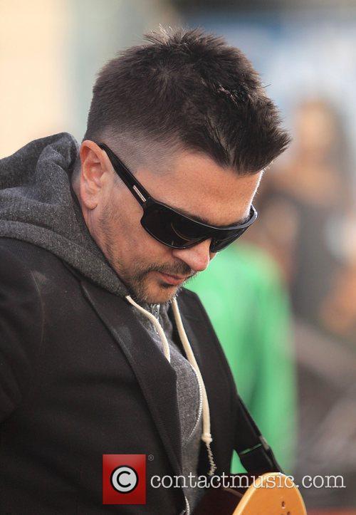 Singer Juanes performing his new album P.A.R.C.E. on...