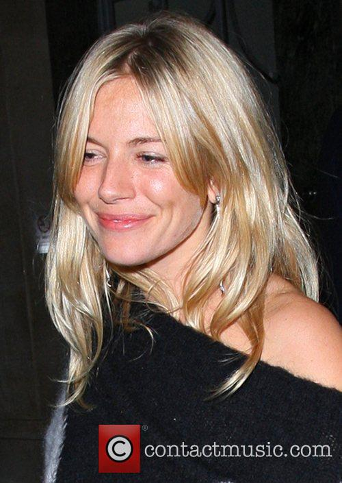 sienna miller and jude law leave claridge