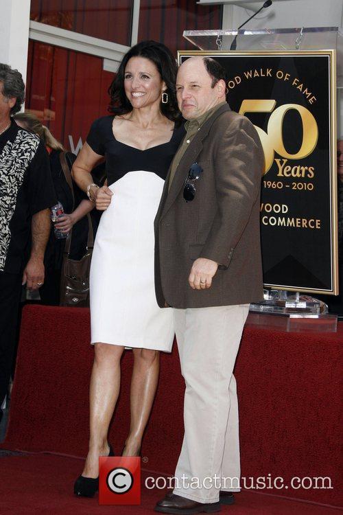 Julia Louis-Dreyfus, Jason Alexander, Walk Of Fame
