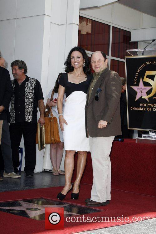 Julia Louis-dreyfus and Jason Alexander 10