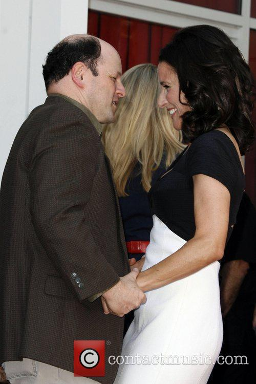Julia Louis-dreyfus and Jason Alexander 9