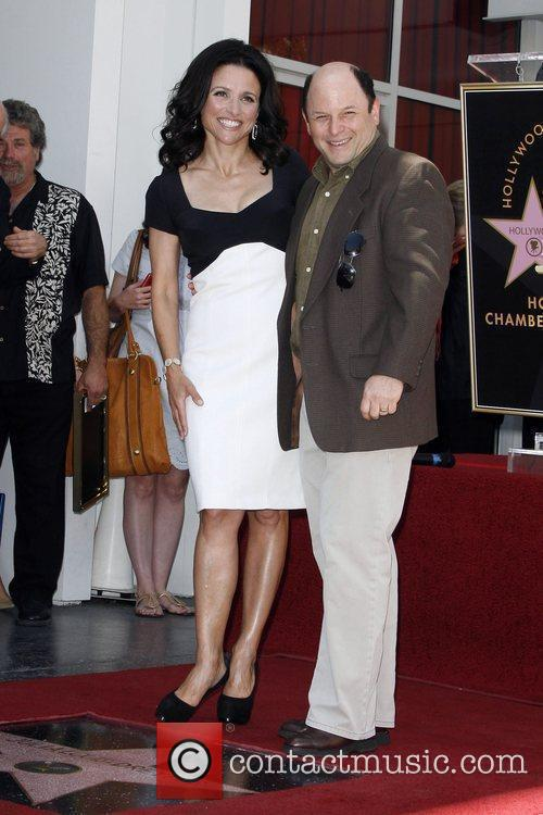 Julia Louis-dreyfus and Jason Alexander 3