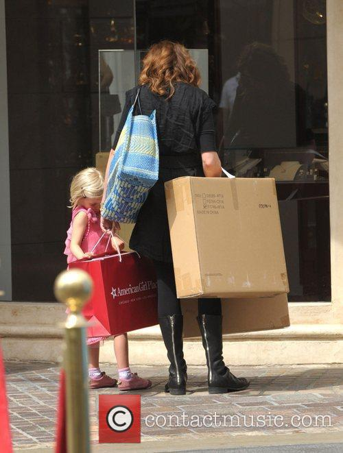 Julia Roberts and With Daughter Hazel 3