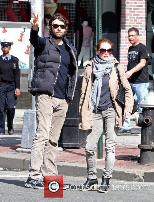 Julianne Moore and Husband Bart Freundlich 3