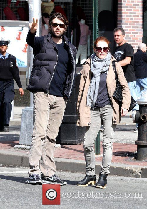Julianne Moore and Husband Bart Freundlich 2