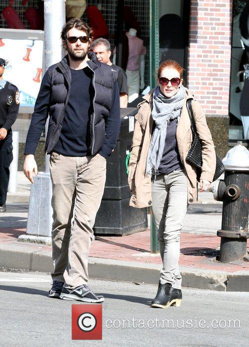 Julianne Moore and Husband Bart Freundlich 1