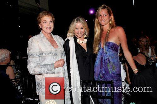 Julie Andrews, Courtney Sale Ross and Nicole Ross...