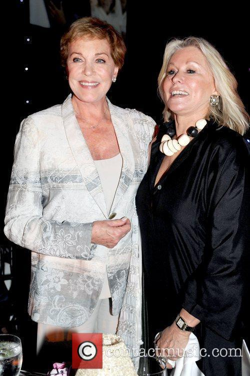 Julie Andrews and Courtney Sale Ross Ross School...