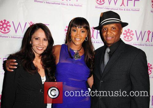 Deanna Shapiro, Vivica A. Fox and Kim Bass...