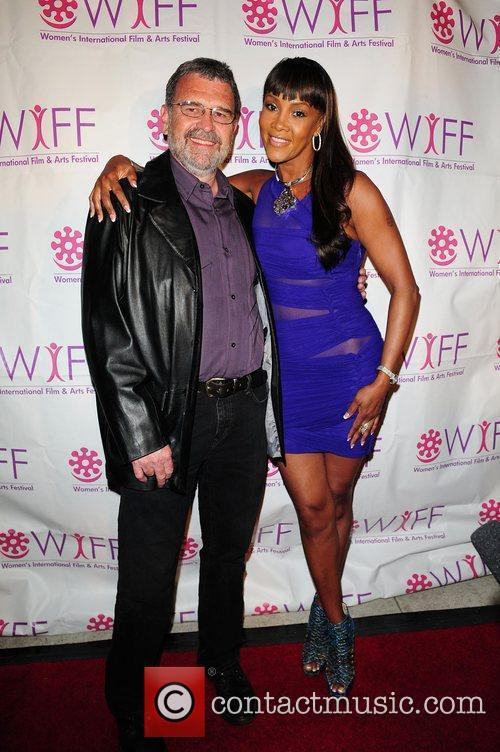 Lawrence Boothby and Vivica A. Fox Premiere of...