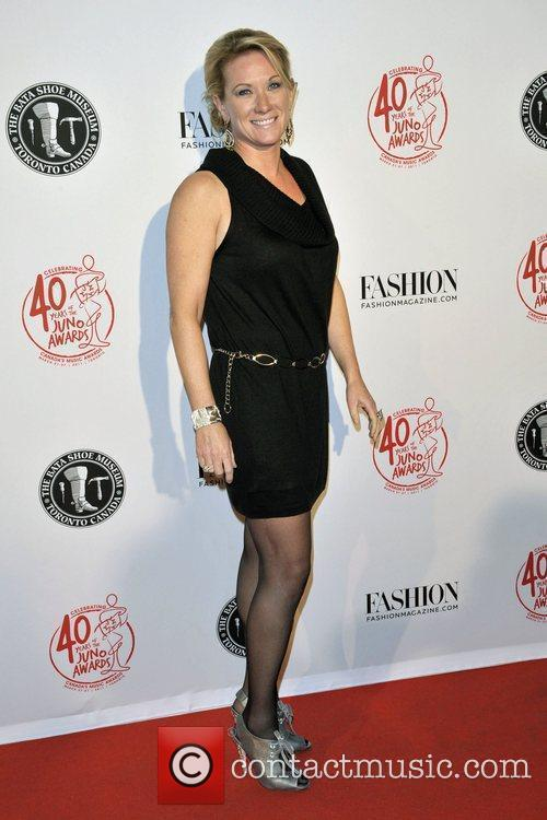 Melanie Berry Red Carpet arrival for the opening...