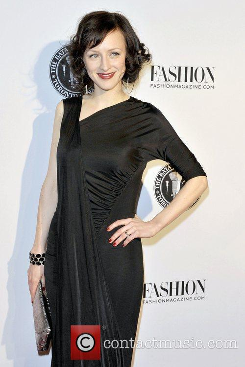 Sarah Slean Red Carpet arrival for the opening...
