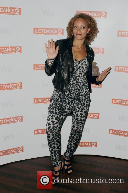 Angela Griffin and Wii 4