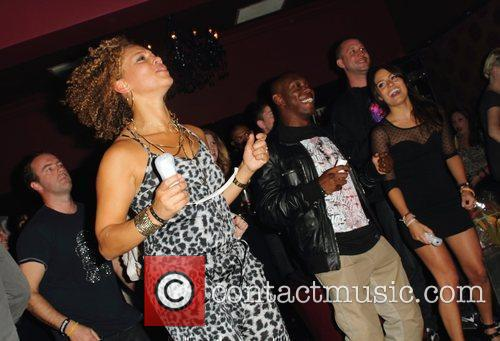 Angela Griffin, Dizzee Rascal and Wii 1
