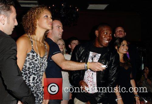 Angela Griffin, Dizzee Rascal and Wii 3