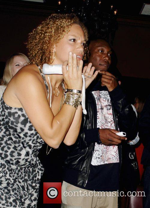 Angela Griffin, Dizzee Rascal and Wii 11