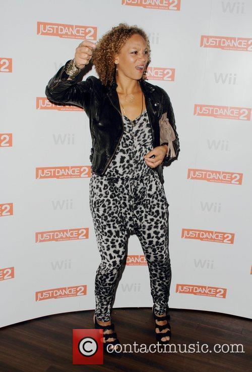 Angela Griffin and Wii 9