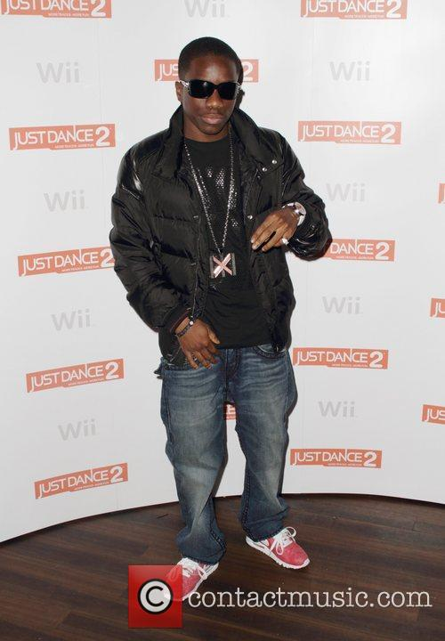 Tinchy Stryder The launch party for 'Just Dance...