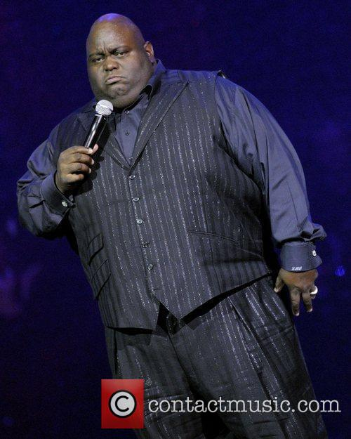 Lavell Crawford  performing live on stage during...