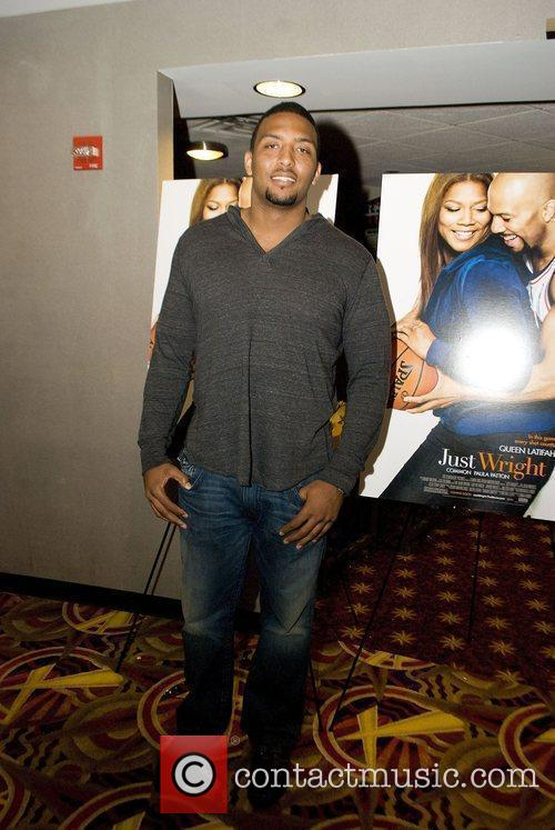 Jarron Gilbert The Chicago Premier of 'Just Wright'...