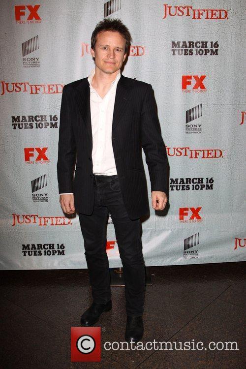 Damon Herriman FX's Justified - Los Angeles Premiere...