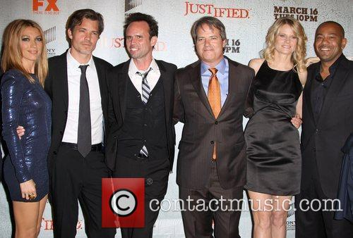 Justified cast