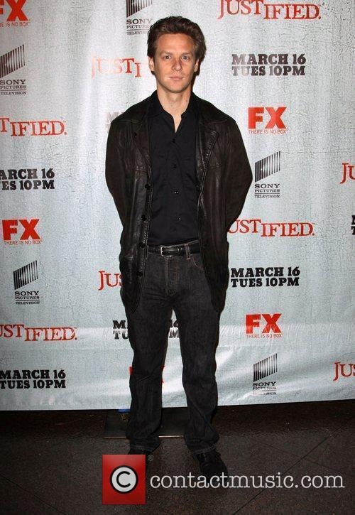 Jacob Pitts FX's Justified - Los Angeles Premiere...
