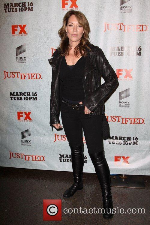 Katey Sagal FX's Justified - Los Angeles Premiere...