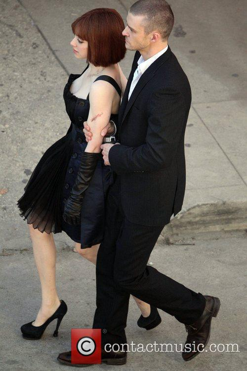 Justin Timberlake and Amanda Seyfried 2