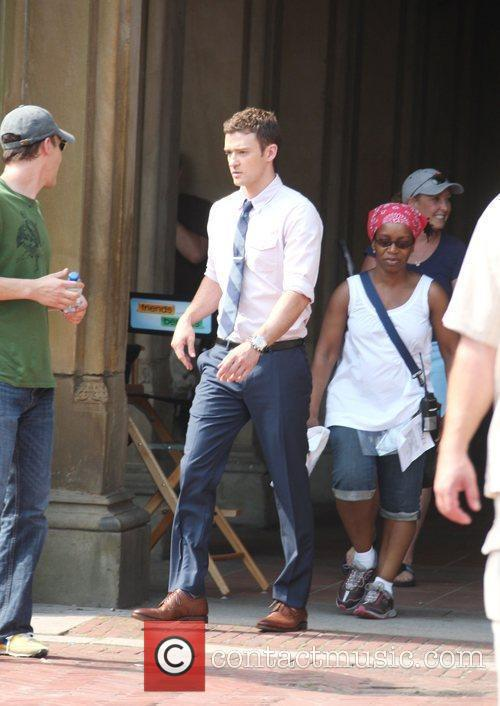 On the set of his new film 'Friends...
